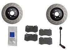 Mercedes W221 S550 4Matic S600 07-12 Front Brake KIT Rotors w/ JURID Pads