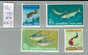 Siam Thailand 480 -83  MNH   #234