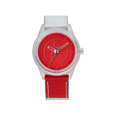 Q&Q SMILE SOLAR Unisex Armbanduhr Uhr Red RP00J011Y