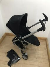 Quinny Zapp Extra2 Pushchair Folding With Seat On/FREE P&P/ Travelling Pushcahor