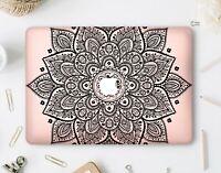 Floral Mandala Macbook Air 13 Hard Case Macbook Pro 13 15 Retina Top Bottom Set