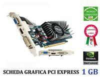 SCHEDA GRAFICA PCI EXPRESS  NVIDIA GEFORCE 1 GB ASUS EN GT 430 VGA DVI HDMI