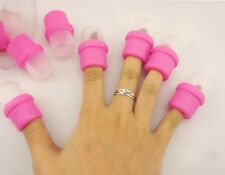 Susenstone®10 Pcs Wearable Nail Soak Soakers Polish Remover Acrylic UV GEL Cap