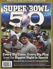 Cbs Special Collector's Edition Super Bowl 50 - Every Big Game! - Free Ship!