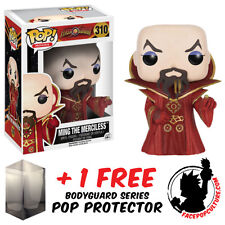 FUNKO POP FLASH GORDON MING THE MERCILESS VINYL FIGURE + FREE POP PROTECTOR