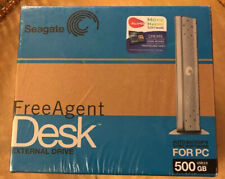 Seagate FreeAgent Desk 500GB External 7200RPM (ST305004FDA2E1-RK) HDD
