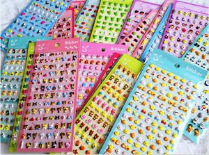 30+ Colorful Puff Stickers Animal Rabbit Bunny Diary Scrapbook Card  Heart Panda