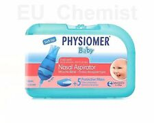 PHYSIOMER Nose Nasal Aspirator Baby Infant from Birth - Clears Nasal congestion