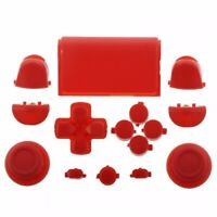 RED PLAYSTATION 4 THUMBSTICK BUTTON KIT DPAD THUMBSTICKS REPLACEMENT REPAIR NEW