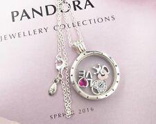 Luxurious Xmas Gift Pandora Floating Locket With Forever Hearts Petites Elements