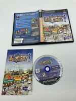 Sony PlayStation 2 PS2 CIB Complete Tested Metropolismania Ships Fast