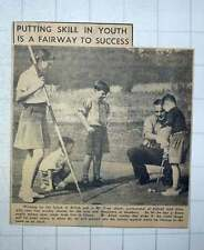 1949 Fred Allott Golf Professional Enfield Club Training Children
