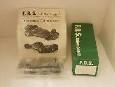 Kit FDS 1/43 n° 68   Brabham BT46b 1978