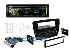 PIONEER CAR STEREO HD RADIO CD PLAYER RECEIVER WITH INSTALL DASH KIT & HARNESS