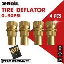 X-BULL Brass Tire Deflators Kit  Adjustable Automatic Tyre Deflator 0-90psi