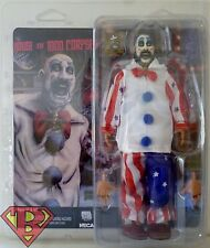 "CAPTAIN SPAULDING House of 1000 Corpses Retro Style 8"" Clothed Figure Neca 2016"