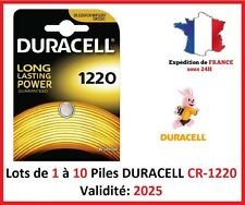 Batteries CR-1220 Duracell / Other Modell: CR-1616-1620-2016-2025-2032-2430-2450