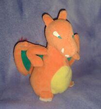 Pokemon CHARIZARD Plush Stuffed Toy Beanie Beanbag 1998 Hasbro