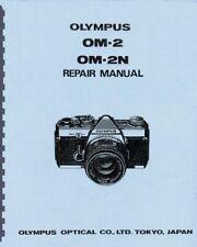 Olympus OM-2, OM-2N Camera Repair & Service Manual Reprint