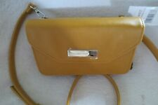 Women NINE WEST Crossbody/Wallet Best Of Both Worlds SLG Butter Yellow New