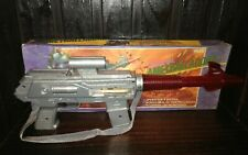 VINTAGE 70'S SPACE RAY GUN RIFLE BATTERY OPERATED ARGENTINA GUN SPACE TOY NIB