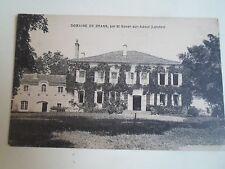 Old Postcard DOMAINE DE BRANS, Par St- Sever-Sur-Adour (Landes) Unposted