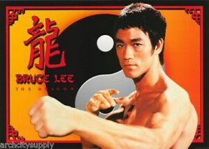 Bruce Lee Poster 'Die Drachen