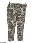J. Crew Vintage Straight Cargo Pants Camouflage Print Women's Jeans Size 29T