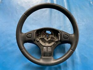 Rover 25 Black Leather Steering Wheel (Part #: QTB001120PMP  P)
