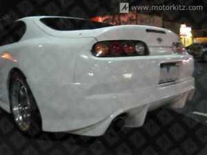 Toyota Supra JZA80 TR Style Rear Bumper Bodykit