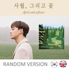 [NEW + SEALED!] CHEN April and a Flower Solo 1st Mini Album EXO Kpop K-pop UK