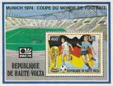 Timbre Sports Football Haute Volta BF5Q * lot 21486