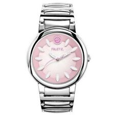 PAYPAL Authentic Bnew Philip Stein Fruitz Watch Silver Strap Strawberry Sorbet