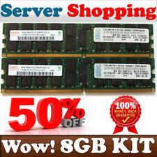 zx77B (2X 4GB) DDR2 PC2-3200R IBM 41Y2857 DDR2 400MHz ECC Ress