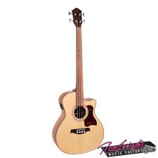 Gilman GAB10CE Spruce Top Acoustic Electric Bass Guitar