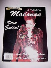 Madonna A Tribute To Madonna - Viva Evita! UK magazine 9781878667267, B248