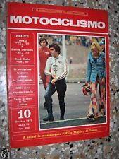 MOTOCICLISMO n. 10 1973 YAMAHA TX 750 - HARLEY De Agostini MI