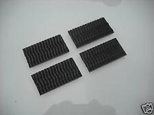 3M doble bloqueo Heavy Duty Sujetador Adhesivo Almohadillas Negro 8 Pack