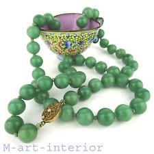 alte Jade Collier Jahre Halskette 76cm nephrite china necklace 124 g vintage #6