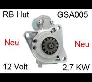 Anlasser für Hyster Jungheinrich Mazda Motor Yale Mitsubishi M2T54571 12V 2,7 KW