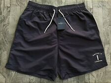 3504204006 HACKETT NAVY BLUE CLASSIC VOLLEY SWIM SHORTS SIZE M 30