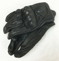 NEW ICON PURSUIT NON-PERFORATED BLACK STEALTH LEATHER WOMEN'S GLOVES