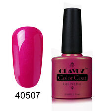 CLAVUZ UV LED Gel Nail Polish Top Base Coat Manicure Long Lasting Soak Off Salon
