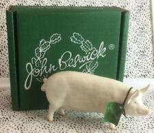 Cattle/Farm Animals White Decorative Pottery