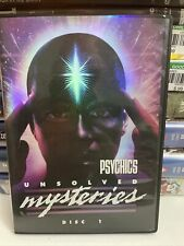 Unsolved Mysteries - Psychics (DVD - 2005 - 4-Disc Set, Boxed Set) Region 1
