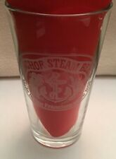 Anchor Brewing Steam Beer Pint Glass! San Francisco 1896