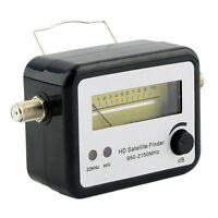 Digital Satellite Signal Finder Meter Compass FTA TV Signal Receiver & Finder ^#