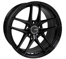 18x8 Enkei TY5 5x114.3 +40 Gloss Black Rims Fits Mazda 3 Accord Rsx Tsx