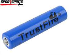 1pc TrustFire 10440 3.7V 600mAh Rechargeable Li-ion Battery for Small Flashlight