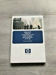 HEWELLET PACKARD GETTING STARTED PACK – MANUAL – GUIDE – CD – HP D530 - HP D330